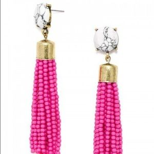 BaubleBar Acid Tassel Drop Earrings